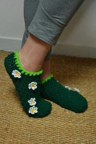 Barefoot in the Grass Slippers for Women, size 8.5 also adjustable-slippers2-jpg