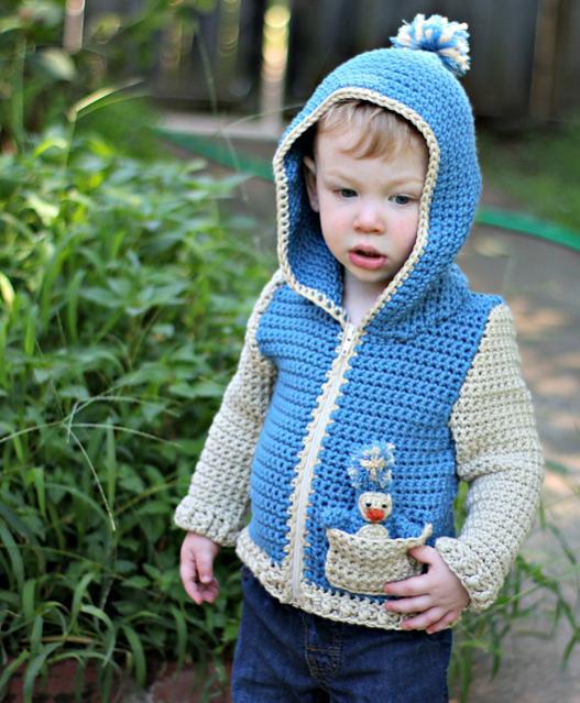 Penguin Pal Hoodue for Children, 2-8-hoodie2-jpg