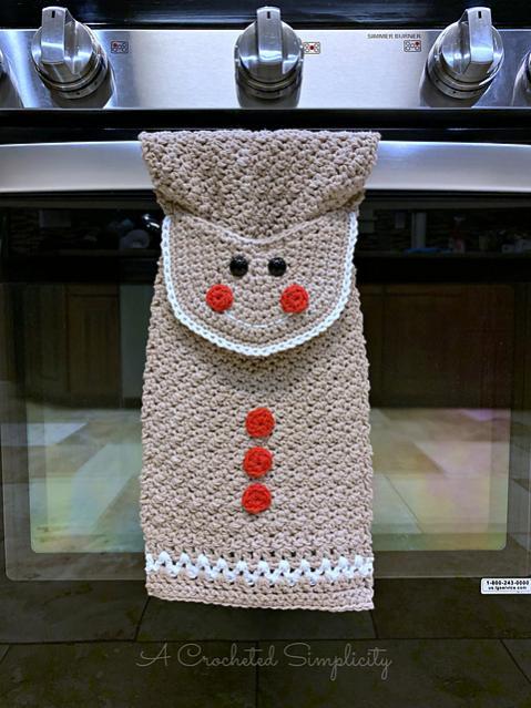 Gingerbread Man Kitchen Towel-gm1-jpg