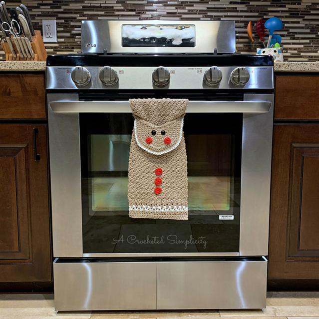 Gingerbread Man Kitchen Towel-gm2-jpg