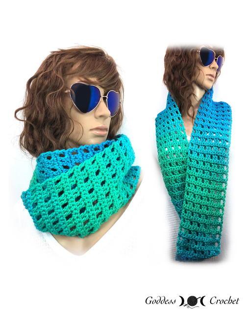 One Skein Infinity Scarf Free Crochet Pattern (English)-skein-infinity-scarf-free-crochet-pattern-jpg