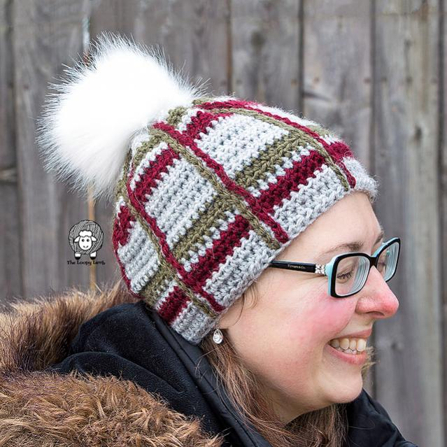 Tartan Beanie and Cowl for Women-tartan1-jpg