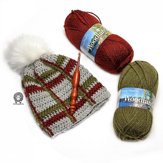 Tartan Beanie and Cowl for Women-tartan2-jpg