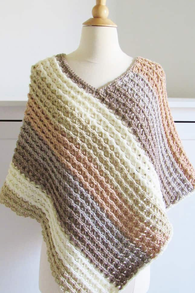 Sunset Poncho for Adults and Sea Breeze Poncho for Children-poncho-jpg