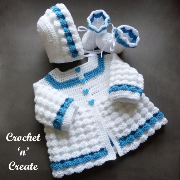 Raised Shell Baby Outfit, 6-12 mos-baby1-jpg
