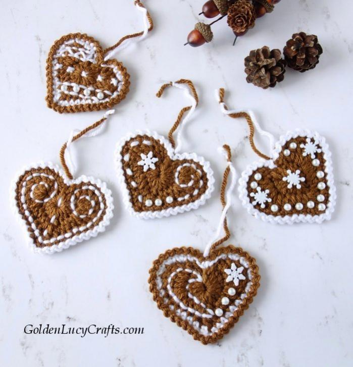 Gingerbread Heart Ornaments-hearts-jpg