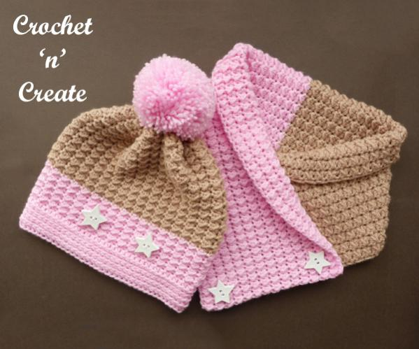 Warm Neapolitan Set (hat and cowl)-set1-jpg