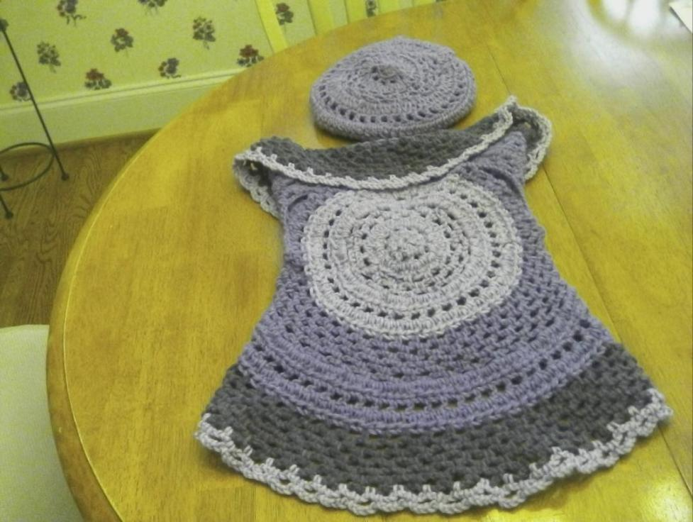 My latest finished project Toddler Vest for a Girl-vest-top-hat-jpg