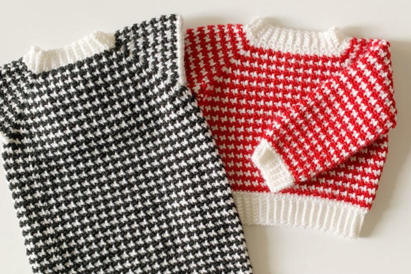Hounstooth Sweater and Sweater Dress for Girls, 3T also adjustable-dress4-jpg