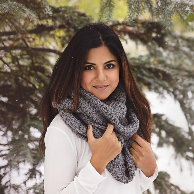 Let It Snow Infinity Scarf for Adults-scarf1-jpg