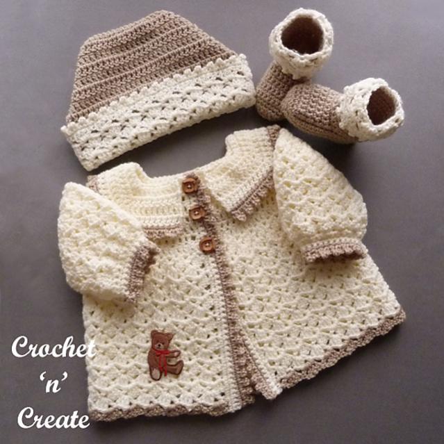 Baby's Picot Set, 0-3 mos-baby1-jpg