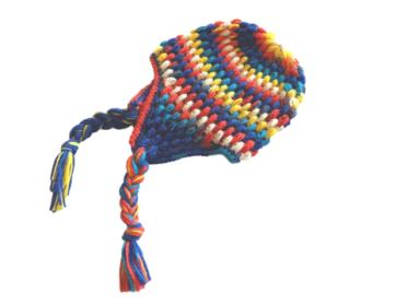 """Puff Stitch Earflap Hat for Children 17""""-19"""" and Adults 20""""-22""""-hat2-jpg"""