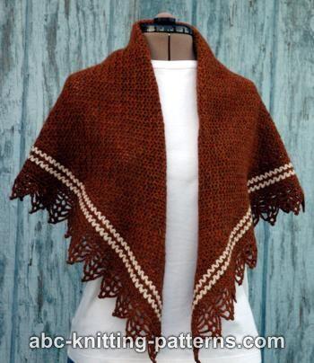 Pretty Striped Shawl for Women-shawl1-jpg