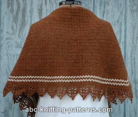 Pretty Striped Shawl for Women-shawl2-jpg