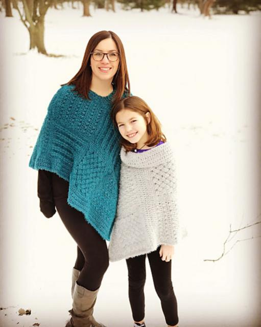 Square Sampler Poncho for Women and Children-poncho1-jpg