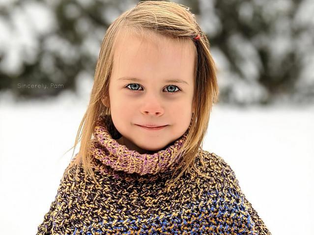 Lucky Penny Poncho for Children, 3-12 yrs-poncho2-jpg