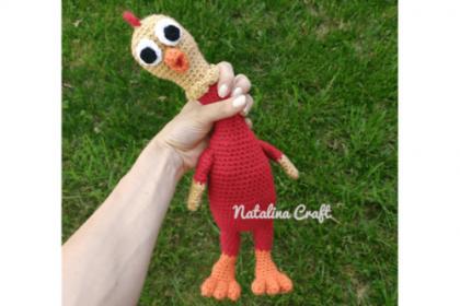 Amigurumi Rubber Chicken Free Crochet Pattern (English)-amigurumi-rubber-chicken-free-crochet-pattern-jpg