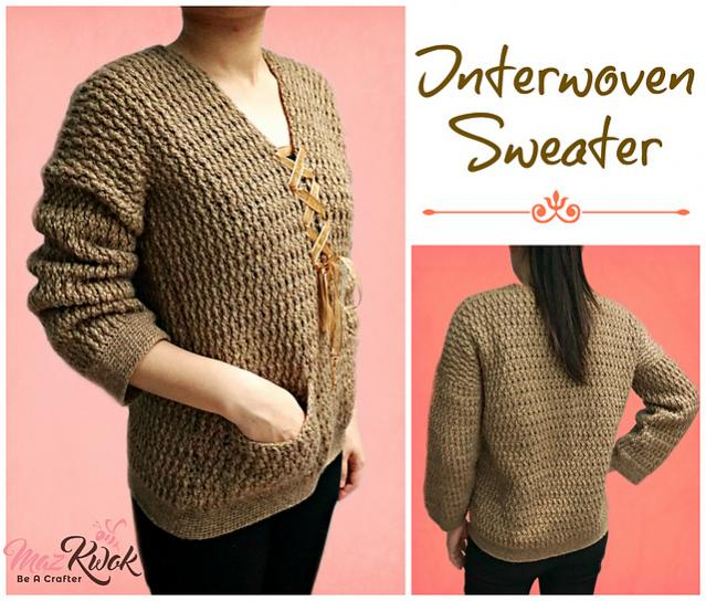 Interwoven Sweater for Women, Large is free-sweater1-jpg
