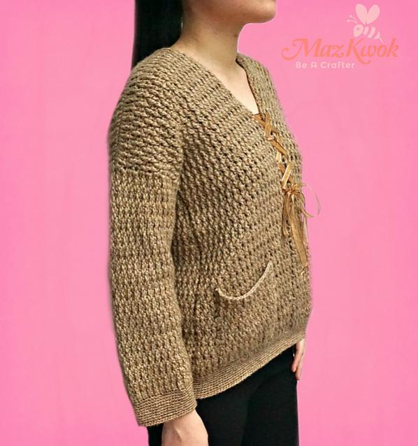 Interwoven Sweater for Women, Large is free-sweater2-jpg