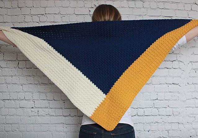 Color Block Triangle Scarf for Women-block2-jpg