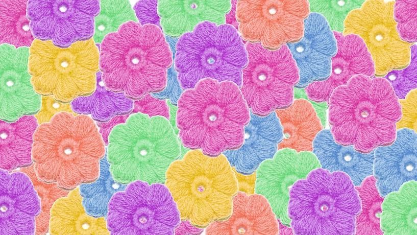 Crochet 8 Petals Puff Stitch Flower-oo-1-jpg