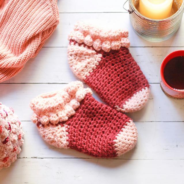 Bobble Slipper Socks for Women, size 5-12 adjustable-socks1-jpg