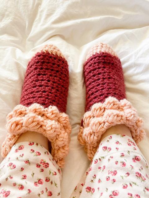 Bobble Slipper Socks for Women, size 5-12 adjustable-socks2-jpg