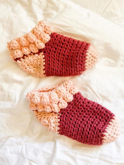 Bobble Slipper Socks for Women, size 5-12 adjustable-socks3-jpg