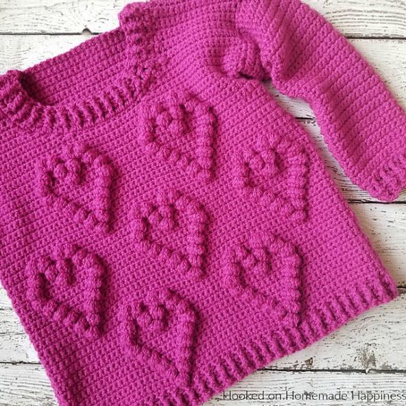 Sweetheart Sweater for Girls, size 5-12-sweater3-jpg