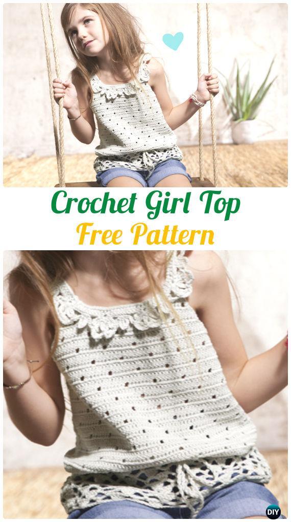 A Girl's Top, 4-14 yrs-crochet-girl-top-jpg