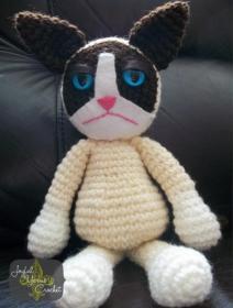 Crabby Cat Free Crochet Pattern (English)-crabby-cat-free-crochet-pattern-jpg