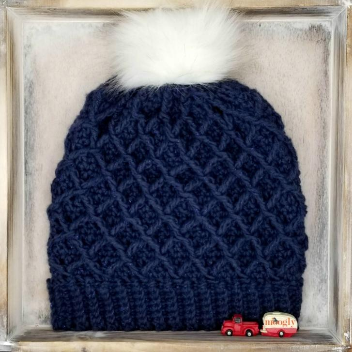 Diamond Hat and Cowl for Women-cowl1-jpg