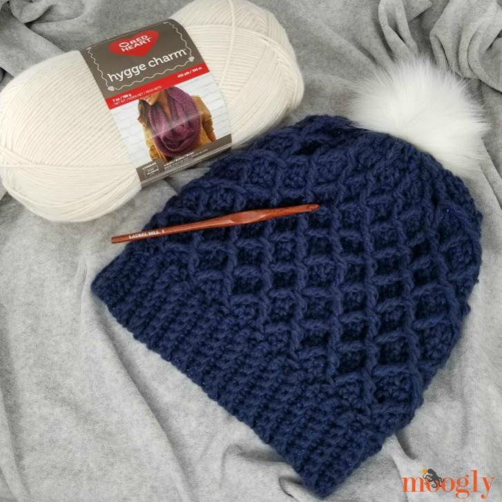 Diamond Hat and Cowl for Women-cowl4-jpg