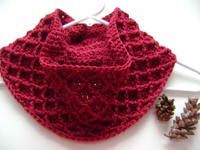 Diamond Hat and Cowl for Women-cowl2-jpg