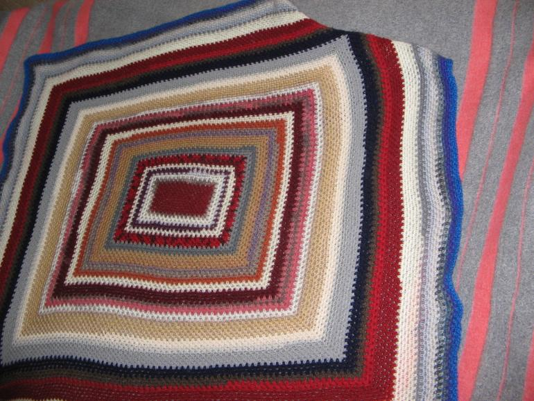 Plaid from the remnants of yarn.-img_0001-jpg