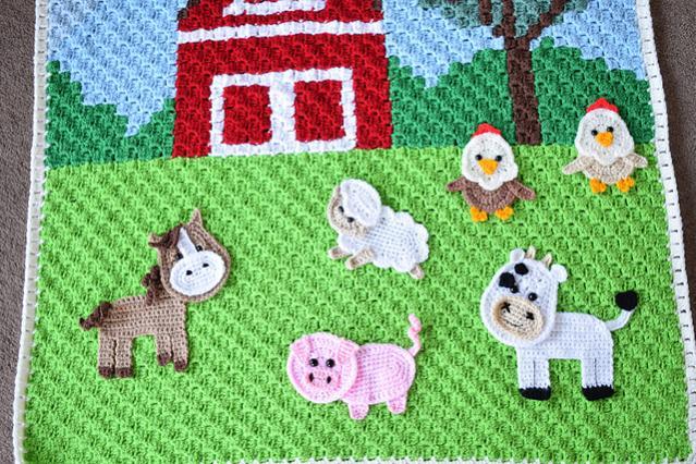 Farm Animal Baby Blanket-animal3-jpg