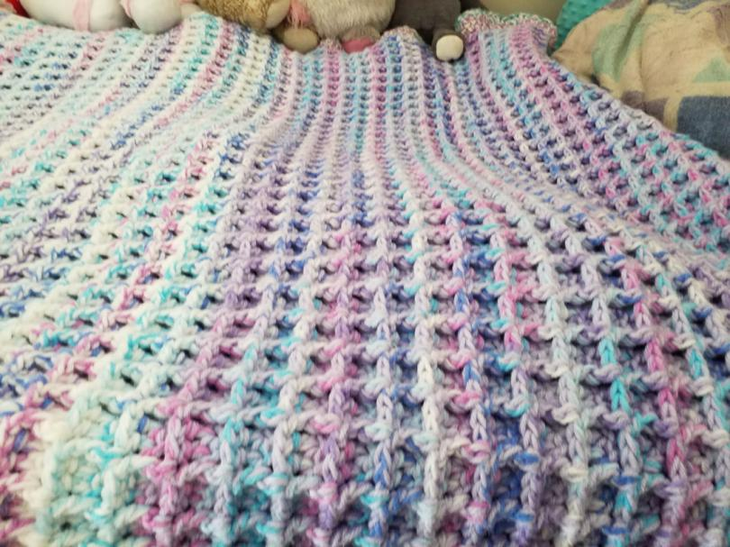 Textile Compression Twin Size Blanket-blanket-jpg