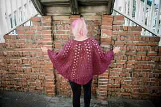 Trapped in Love Poncho for Women-love2-jpg