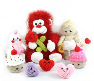 Valentine's Day Amigurumi Set-set-jpg