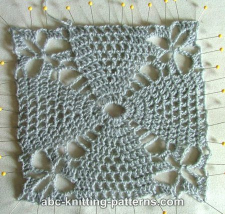Pink Square Motif Shawl for Women-shawl2-jpg
