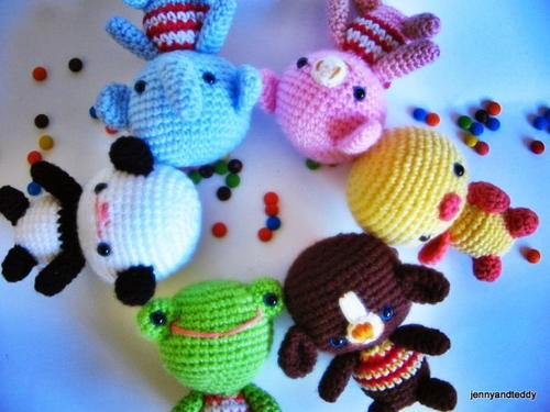 Little Friends Amigurumi Free Crochet Pattern (English)-little-friends-amigurumi-free-crochet-pattern-jpg