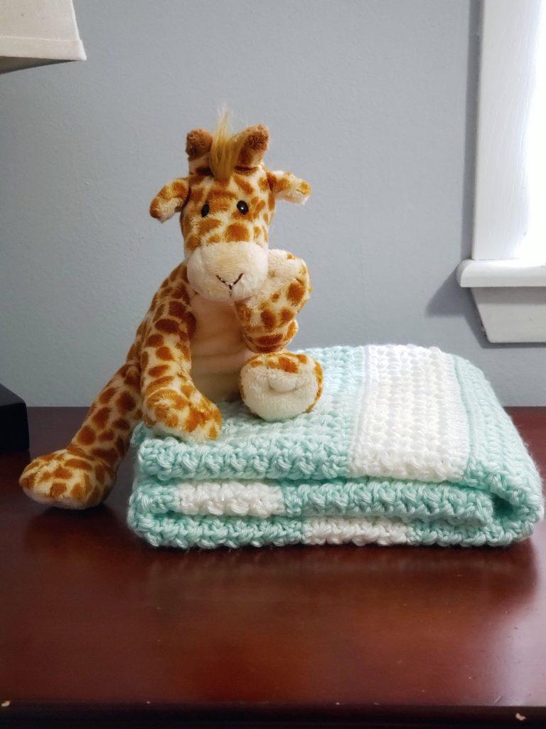 Sweet Stripey Dreams Baby Blanket-blanket2-jpg