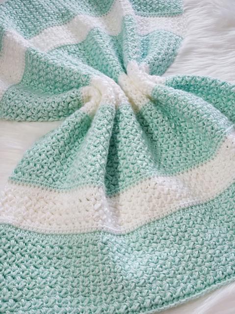 Sweet Stripey Dreams Baby Blanket-blanket5-jpg