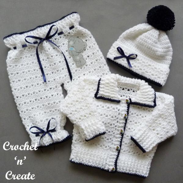 Baby Sweater Set, 3-6 mos-baby1-jpg