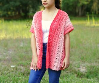 Coral Cardigan for Women, XS-5X-coral3-jpg