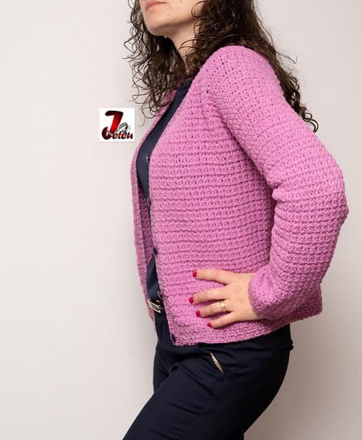 Jacheta Raglan Jacket for Women, M also adjustable-jacket4-jpg