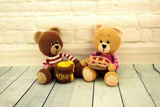 Jo and Joy Amigurumi Bear Family-bear1-jpg