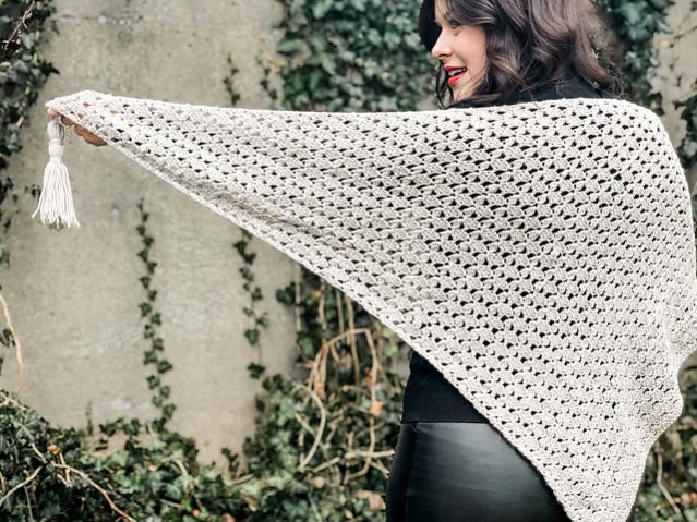 Precious Petal Shawl for Women-shawl3-jpg