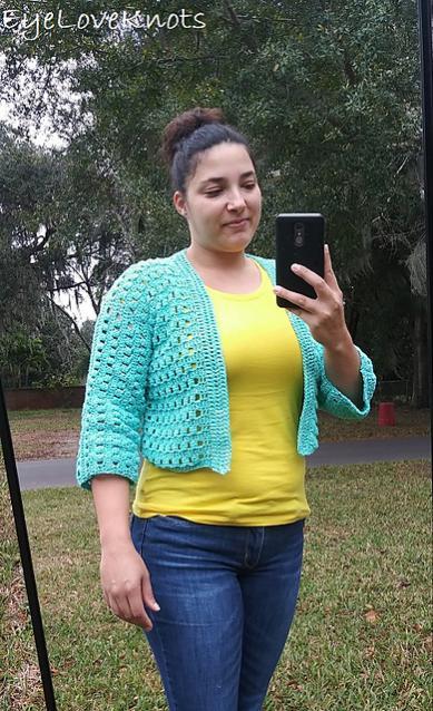 Cropped Sarasota Cardi for Women, XS-3X-cardi2-jpg