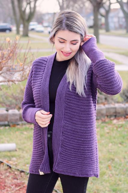 Easy Amethyst Cardi for Women, XS-5X-am1-jpg